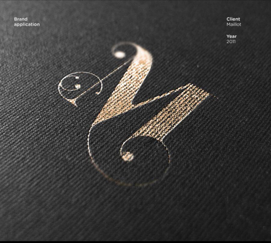 商標設計-M(英文字母)