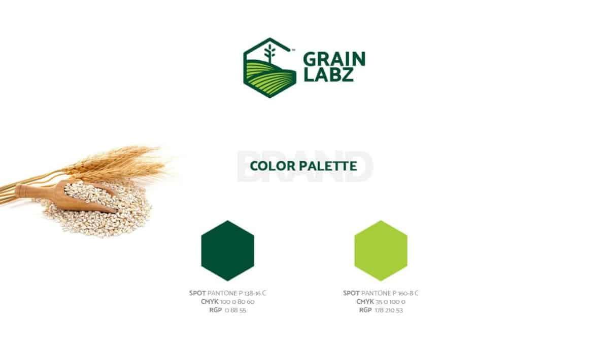 LOGO設計-麥類/食品原料