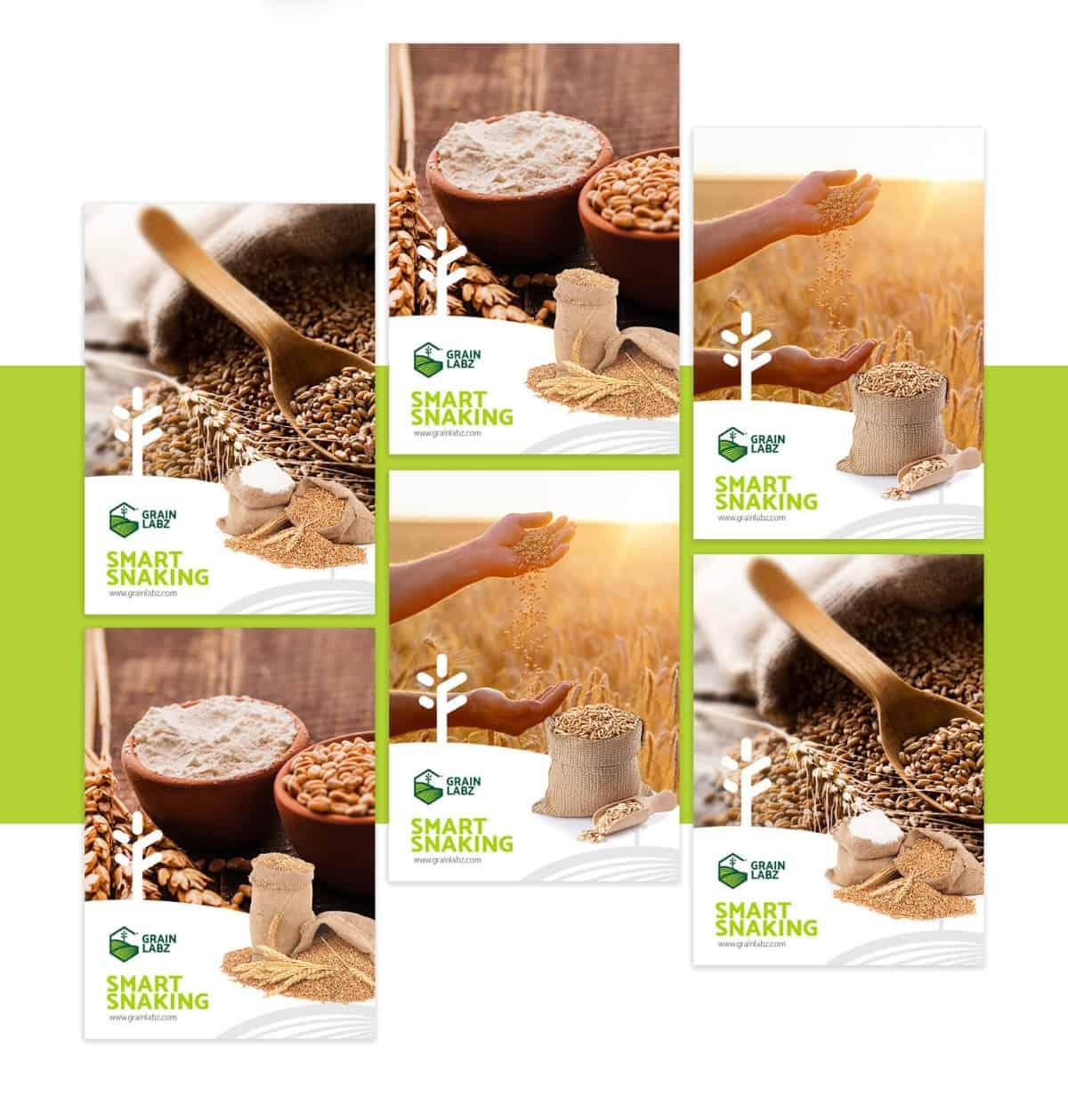 LOGO設計/食品/麥類