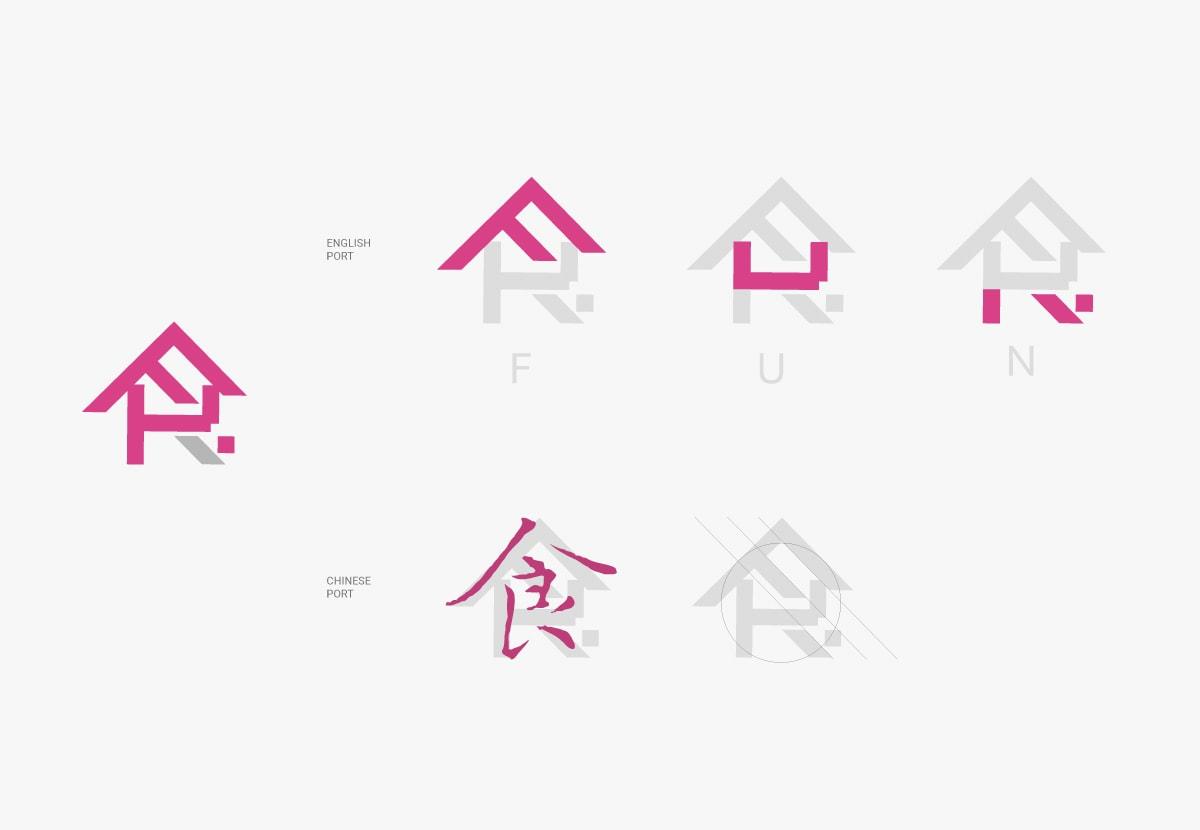 LOGO設計-粉紅色、桃紅色