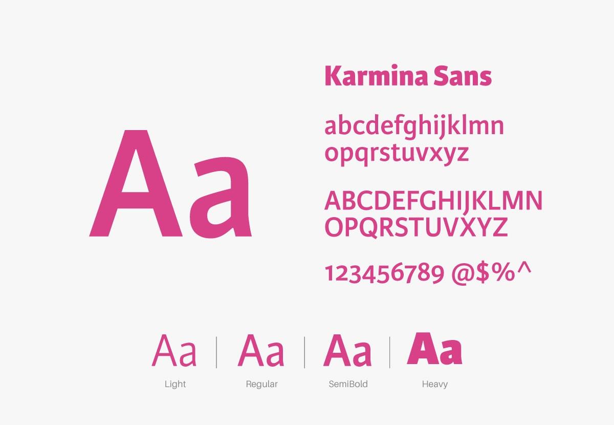 CIS設計-字體設定(食品、烘焙、釀造)