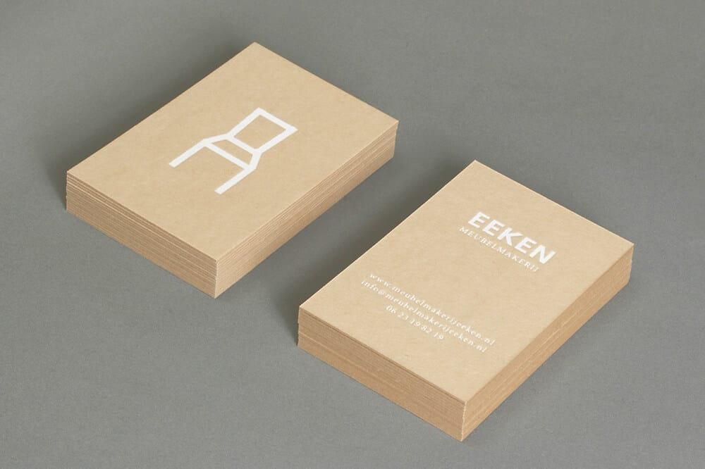 傢俱設計工作室名片設計