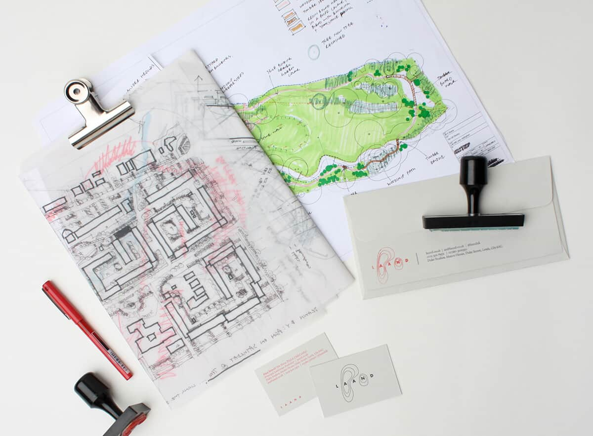 庭園造景名片設計