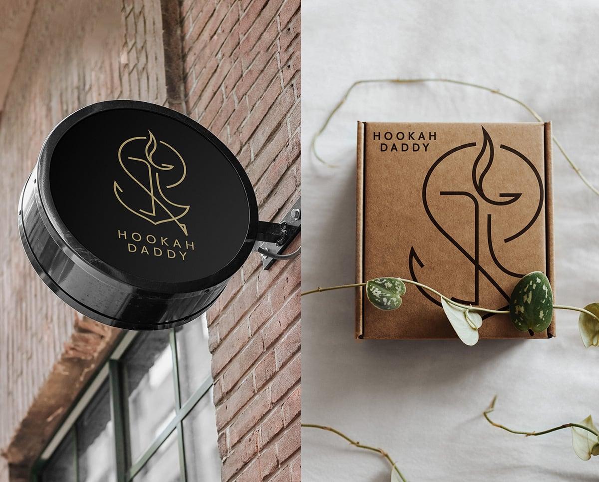 招牌與外盒設計-水煙會館