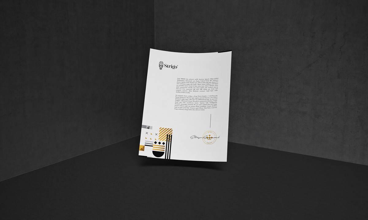 信封信紙視覺設計