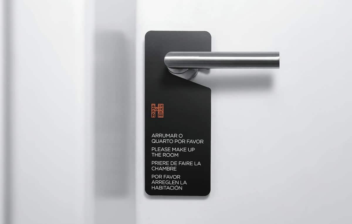 旅館創意品牌設計-房間掛鉤設計
