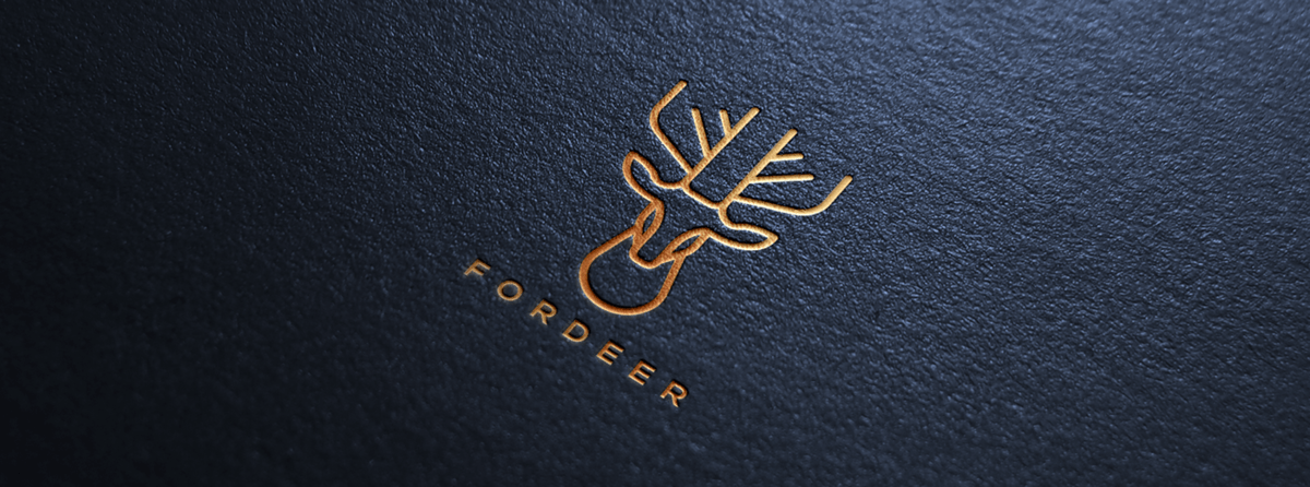 LOGO商標設計(動物主題:鹿)