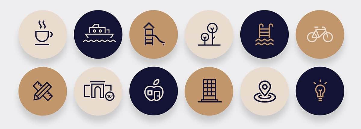 飯店、旅館、商旅和民宿的LOGO設計