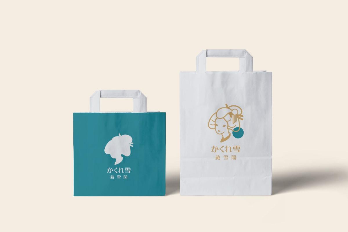 紙袋設計-冰品品牌設計