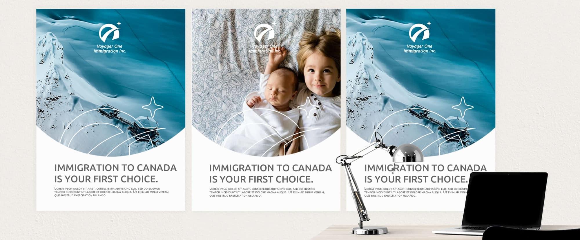 海報設計-移民顧問
