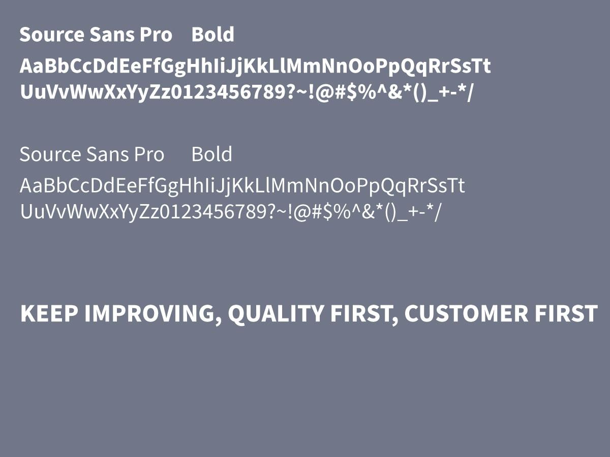 CIS設計-字體-記憶體品牌