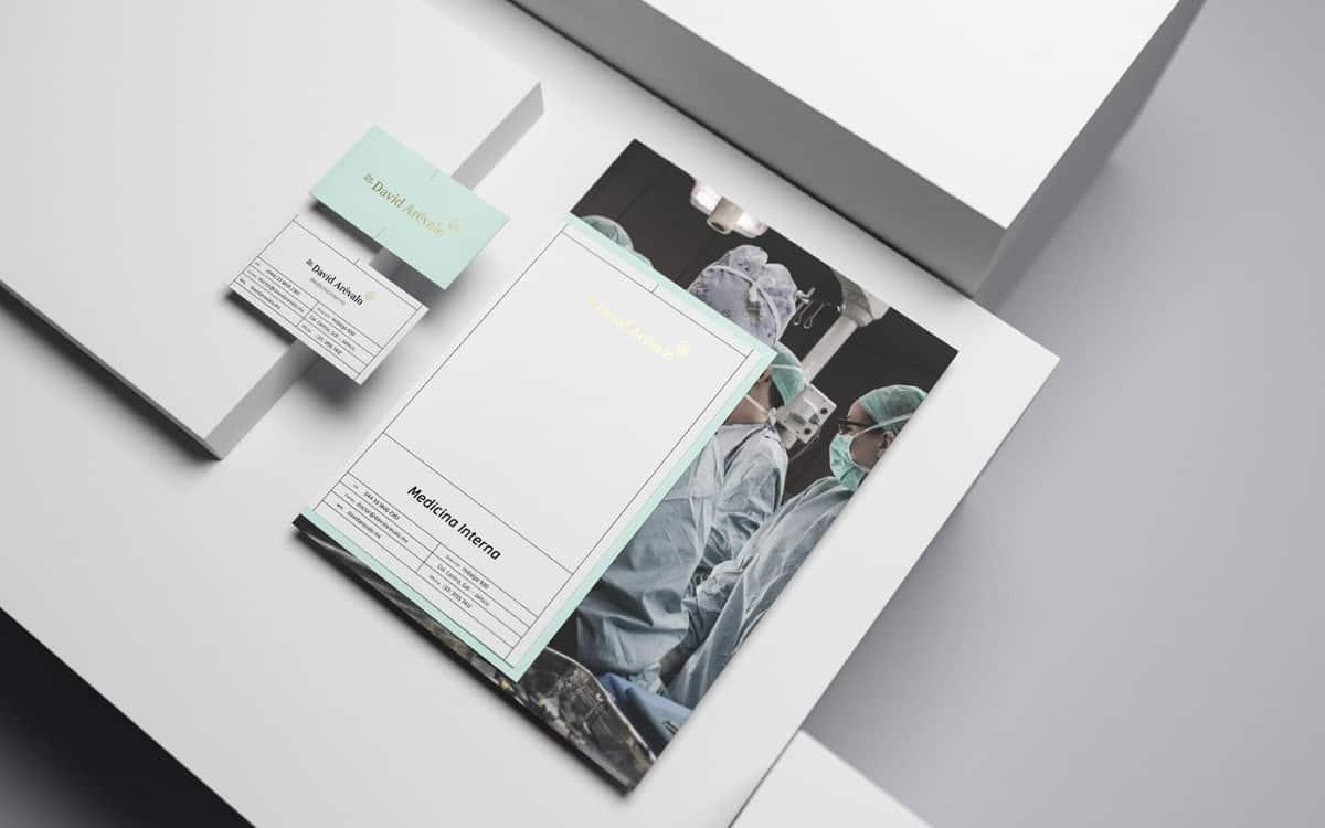 醫院/醫療名片設計案例