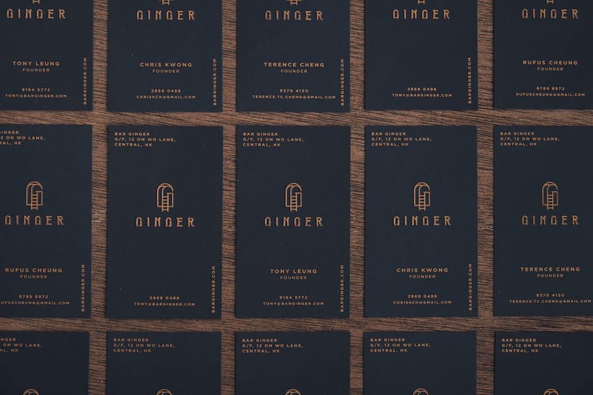 酒吧/餐飲的名片設計推薦