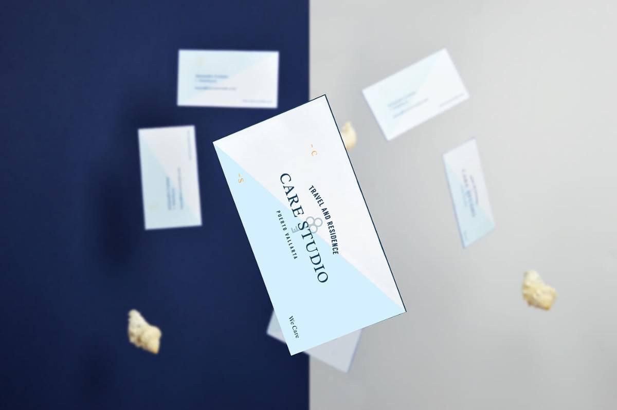 厚紙質感-名片設計