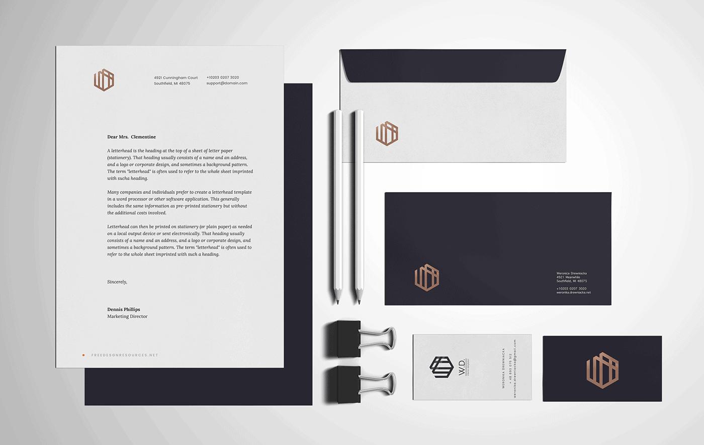 信封設計、名片設計案例(建築、裝潢)