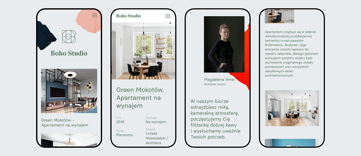 手機網站設計-空間裝修