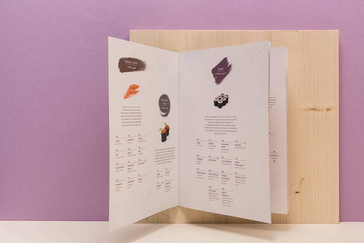 日式料理-菜單設計分享