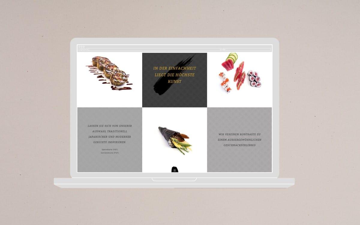 日式料理視覺設計