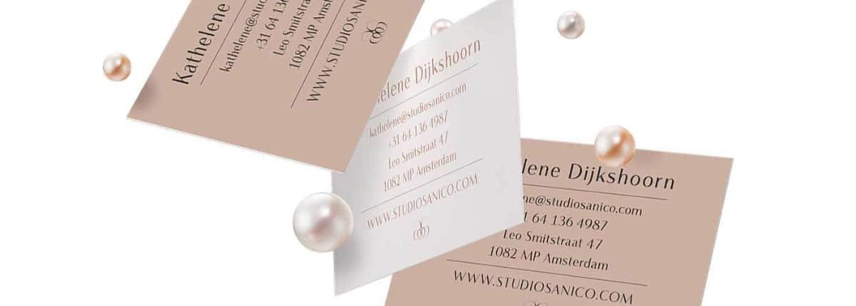 珠寶業/金工設計工作室名片設計