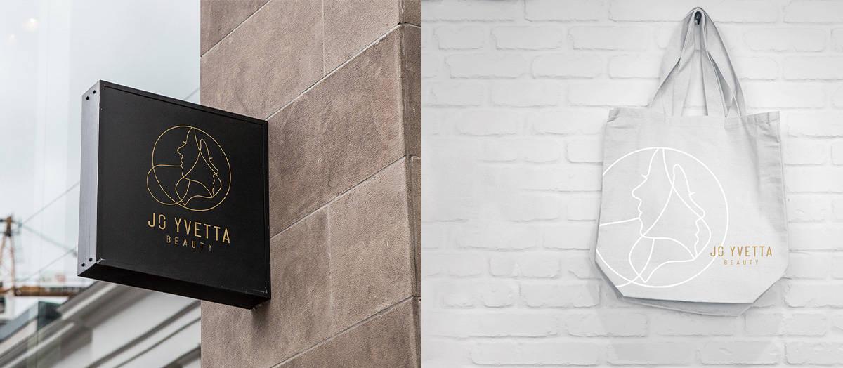 SPA品牌設計-招牌設計、袋子設計