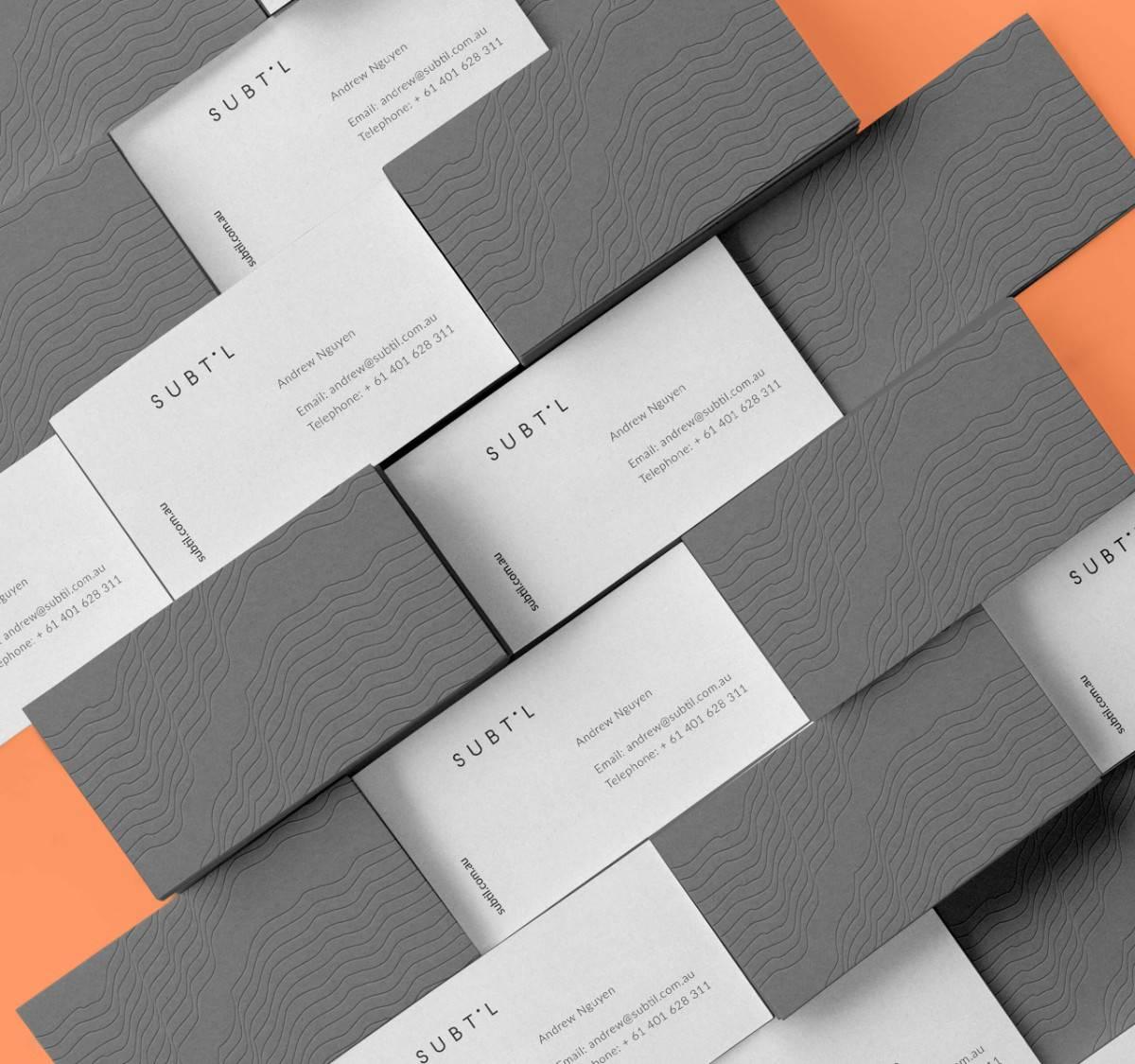 客製化極簡風格的名片設計-名片推薦