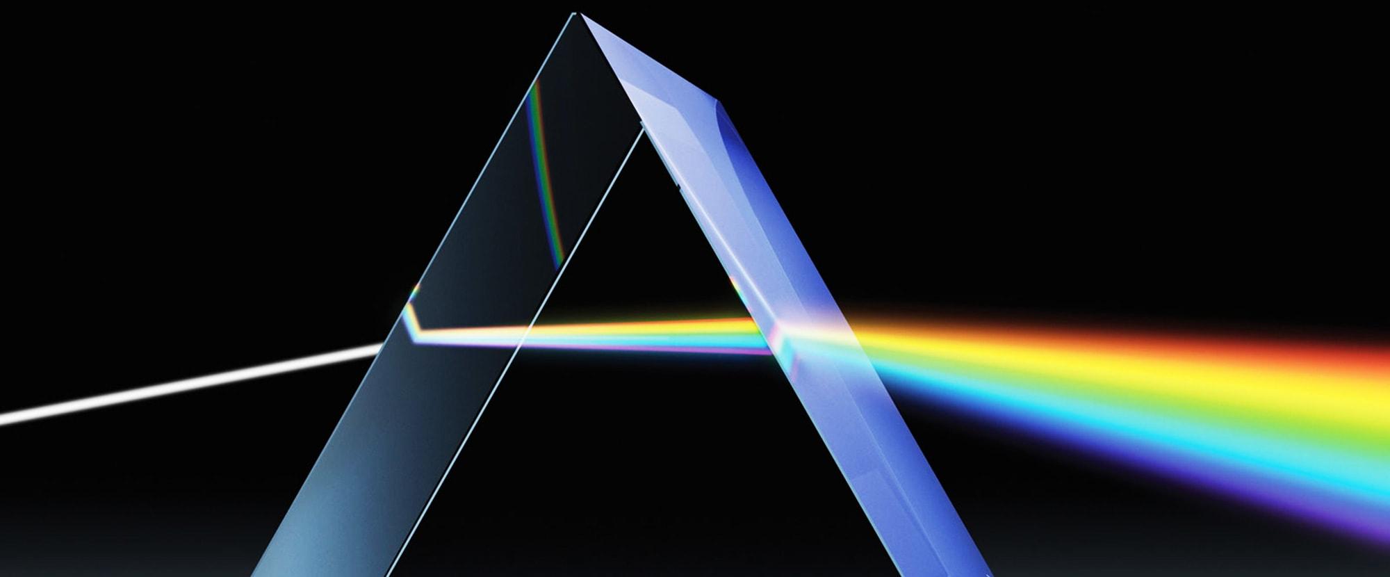 室內設計LOGO設計-三稜鏡意象