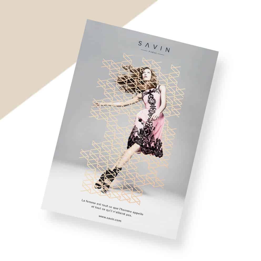 廣告海報設計-女性時尚