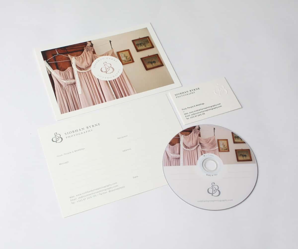 婚禮、婚紗視覺設計(名片/CD/邀請卡)