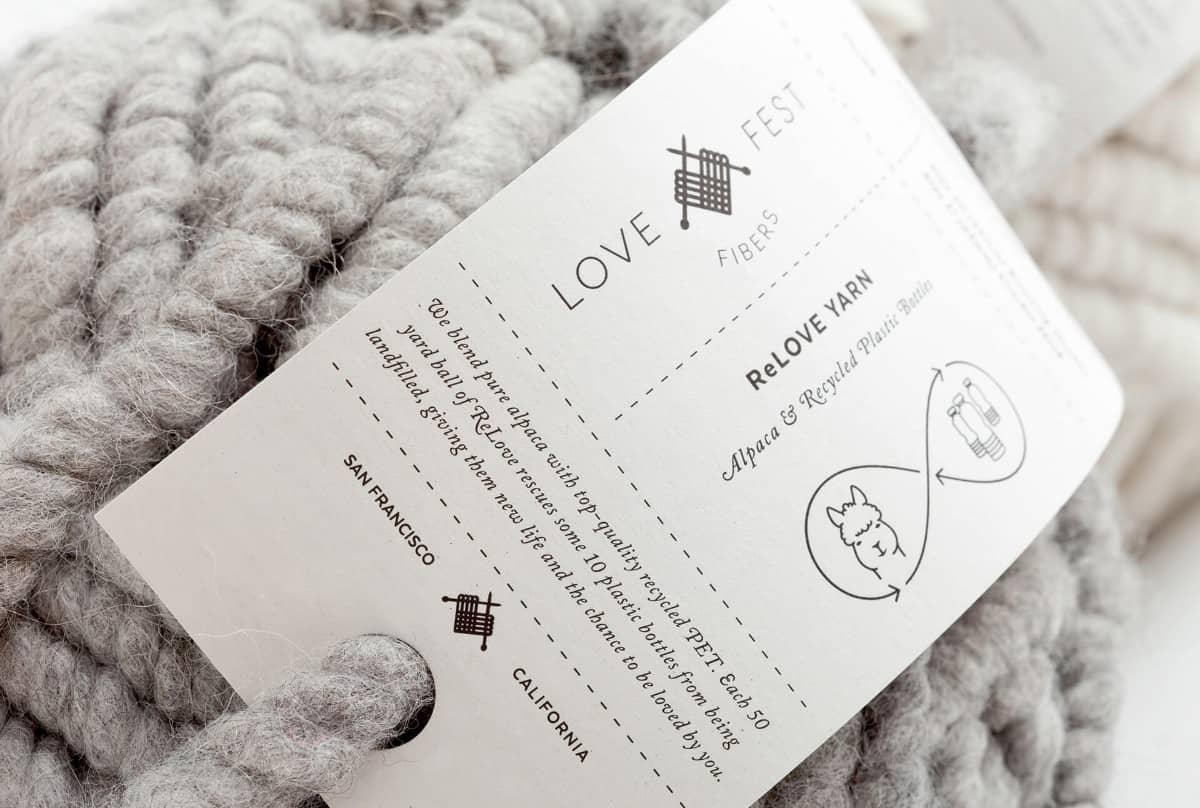 紡織品(圍巾、手工編織)LOGO設計