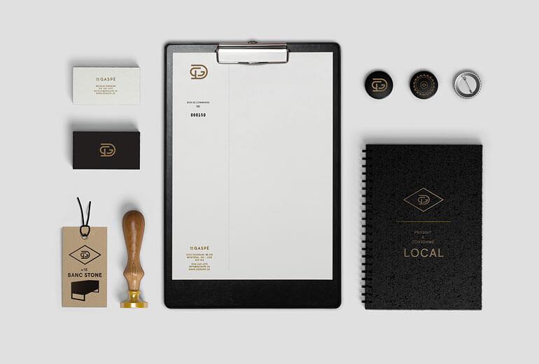 居家生活-LOGO設計及名片設計