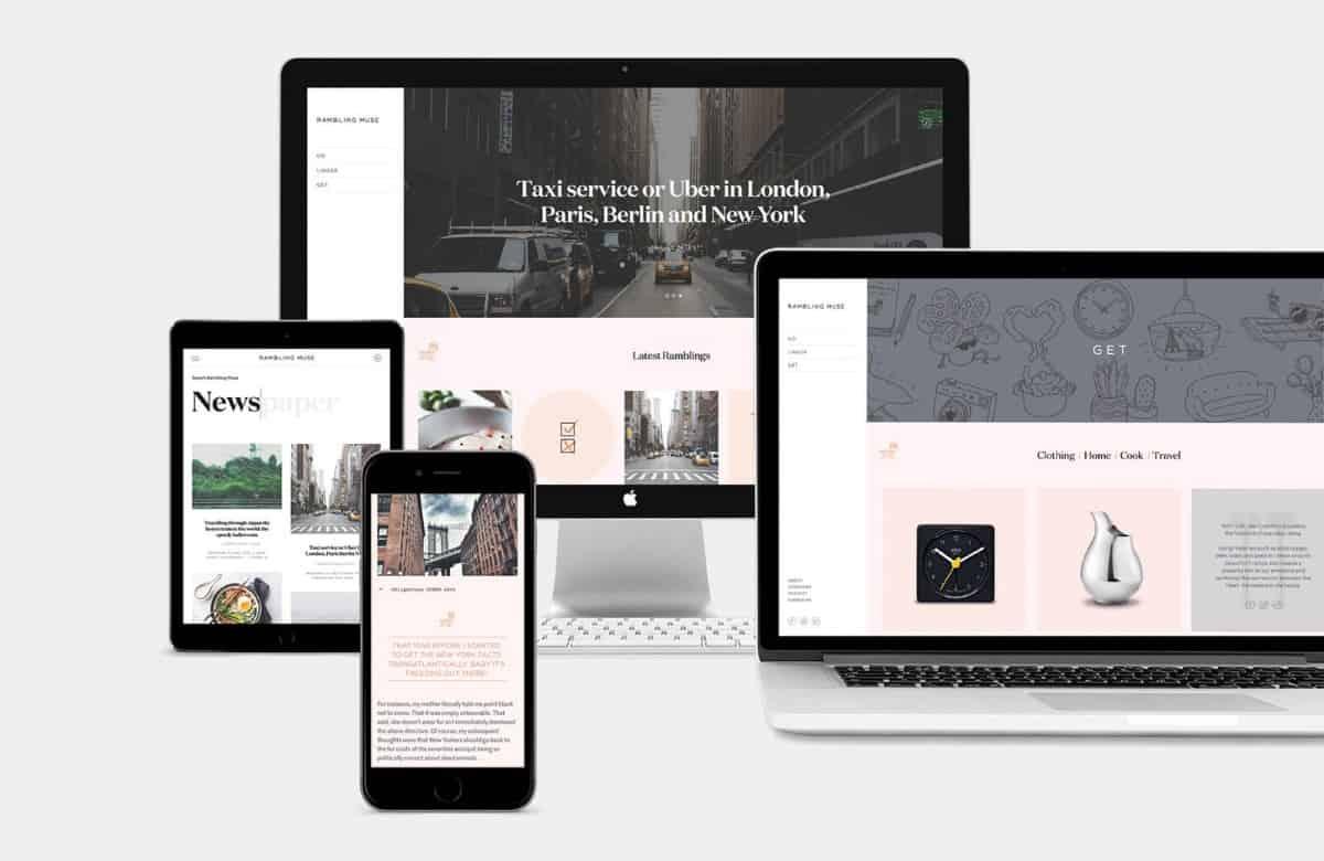 部落格網頁設計-品牌設計
