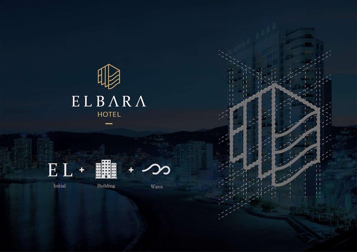酒店、旅館品牌和徽標LOGO設計