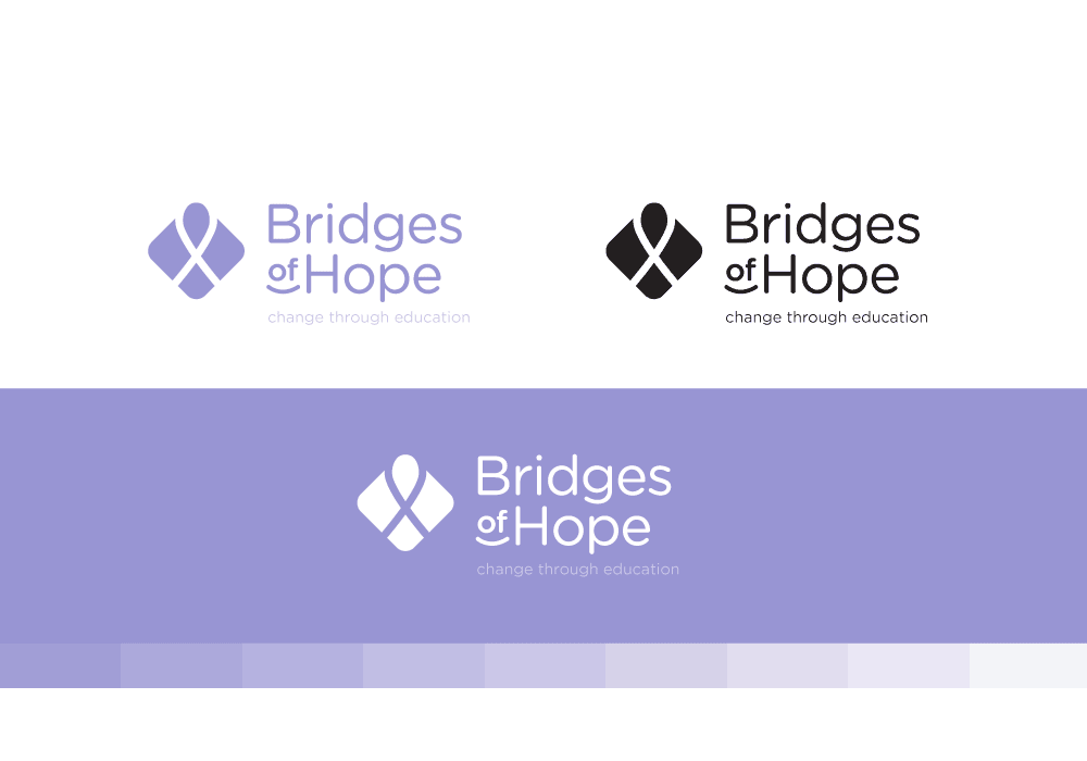 紫色LOGO設計(現代風格)