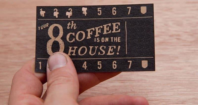 餐廳集點卡設計
