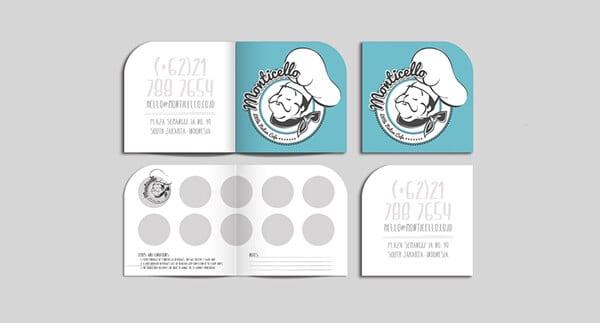 甜點蛋糕集點卡設計