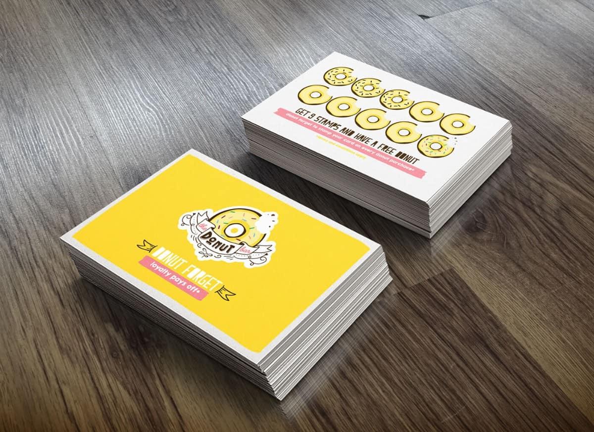 集點卡設計/甜點