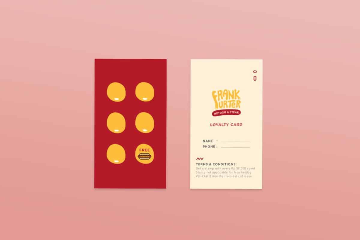 集點卡設計(餐館)