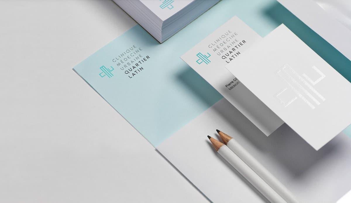 醫療診所名片設計