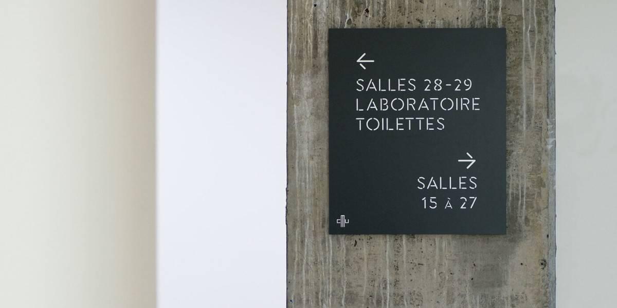 診所視覺設計-指示標牌