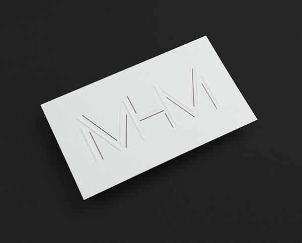 現代風格的名片設計