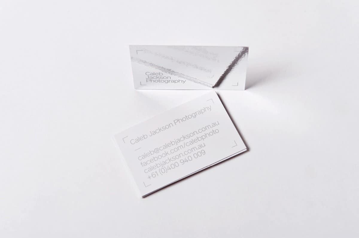 特殊紙材的名片設計