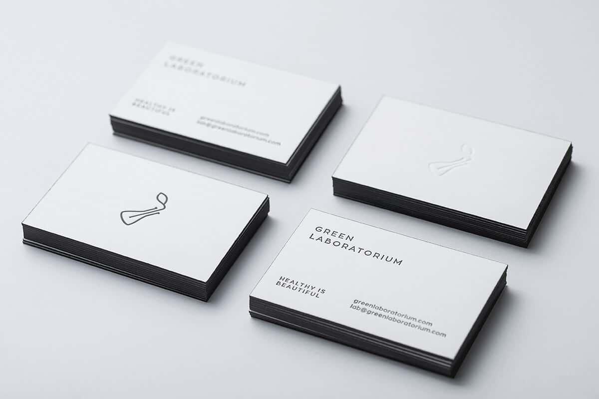 護膚品品牌的名片設計及LOGO設計