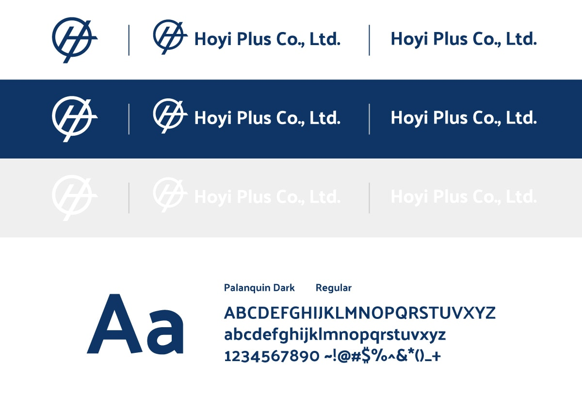 CIS設計-字體規劃(五金品牌)