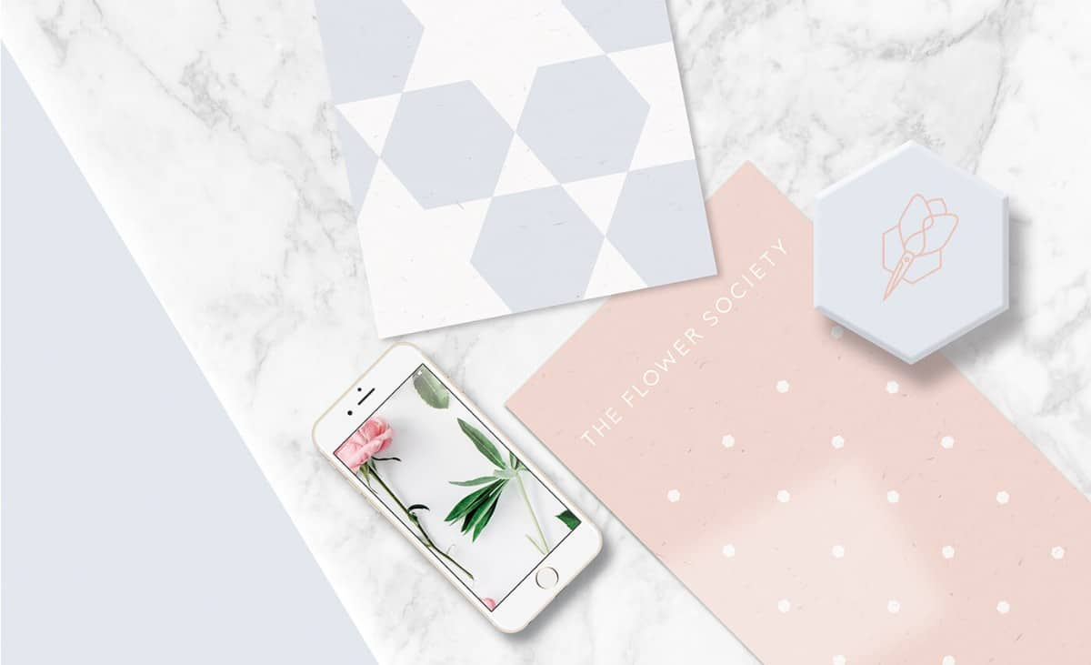 高質感的包裝/外盒設計-花藝師品牌