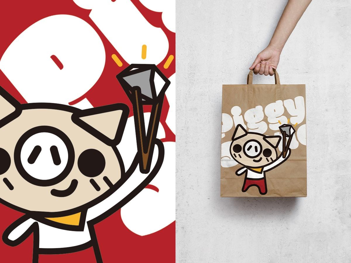 手提袋設計-韓式餐廳