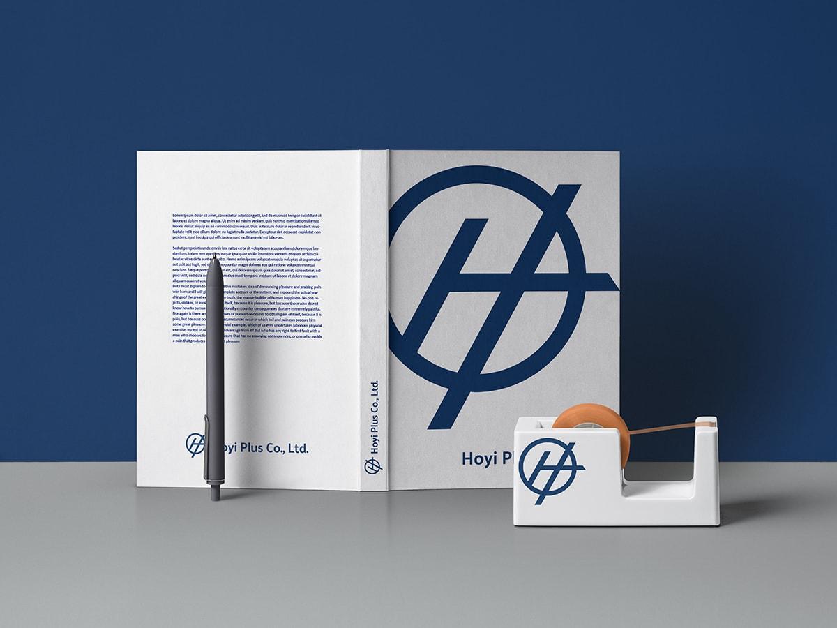鐵釘LOGO設計-筆記本設計