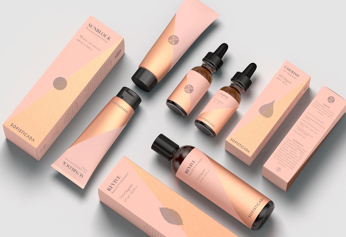 肌膚乳液-名片設計