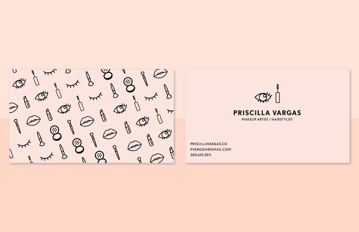 彩妝品牌-名片設計