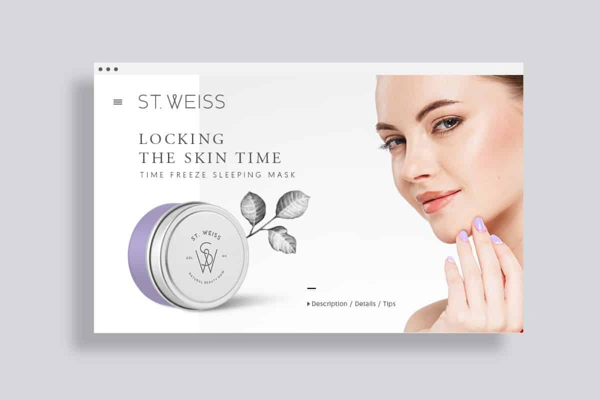 廣告傳單設計-化妝、護膚品牌