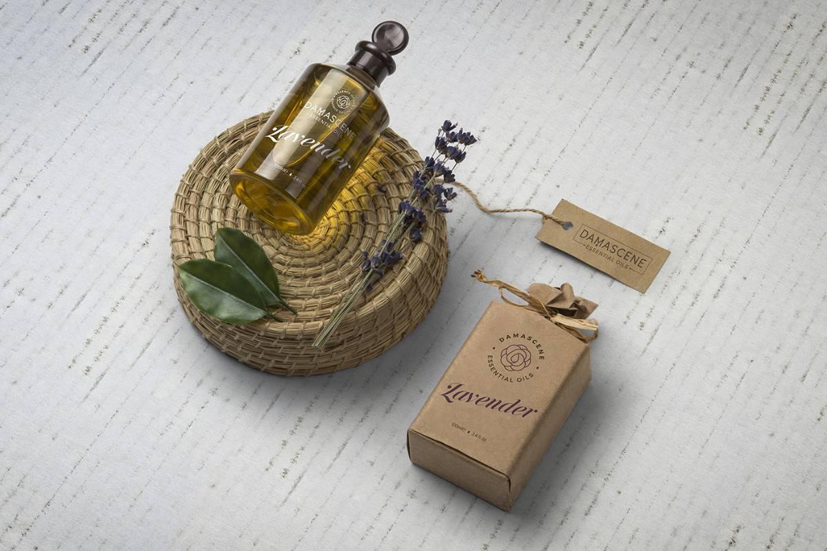 香氛精油LOGO設計及包裝設計